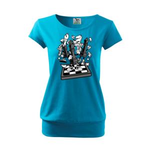 Šachový stůl - Volné triko city