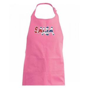 Salsa vlajka - Zástěra na vaření