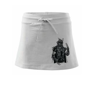 Samurai Punk - Sportovní sukně - two in one