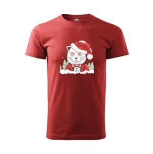 Santa kocour - Heavy new - triko pánské