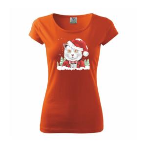 Santa kocour - Pure dámské triko