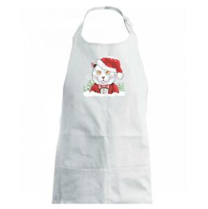 Santa kocour - Zástěra na vaření