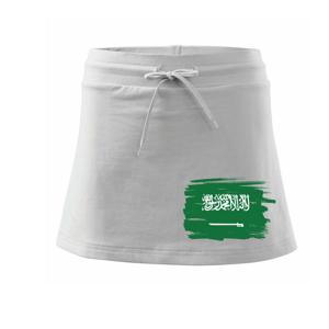 Saudská Arábie - vlajka - Sportovní sukně - two in one
