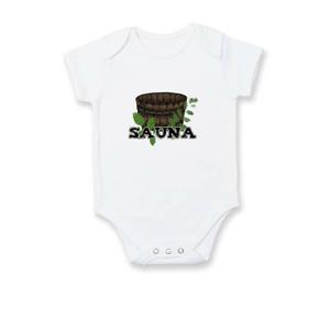 Sauna nápis - Body kojenecké