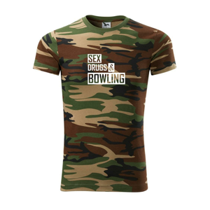 Sex drugs bowling - Army CAMOUFLAGE