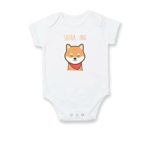 Shiba inu kreslená - Body kojenecké