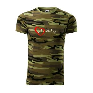 Shih-tzu ekg hlava - Army CAMOUFLAGE