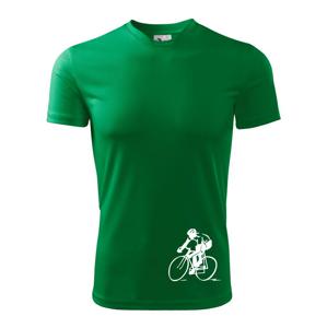 Silniční cyklista - Pánské triko Fantasy sportovní (dresovina)