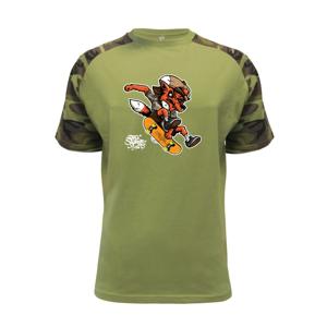 Skate crazy fox - Raglan Military