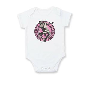 Skate girl pink - Body kojenecké