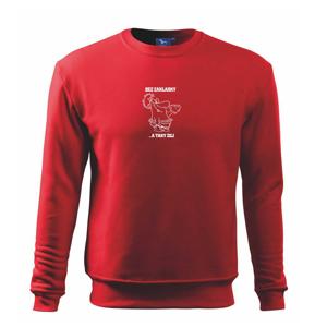 Školní triko - Bez základky - Mikina Essential pánská