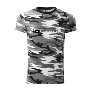 Slide to unlock - Army CAMOUFLAGE