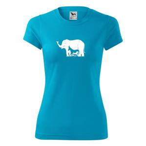 Slon, pes, kočka - Dámské Fantasy sportovní