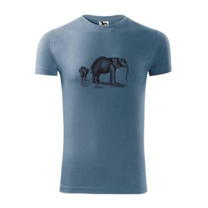 Slonice a slůně kreslené - Replay FIT pánské triko
