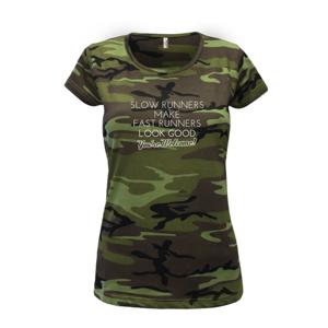Slow runners - Dámské maskáčové triko