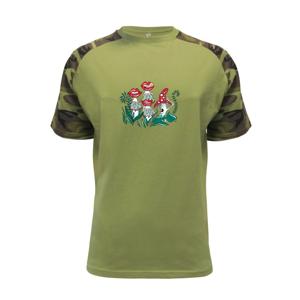 Smyslné houby (Pecka design) - Raglan Military