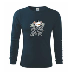 Sněhulák - let it snow - Triko s dlouhým rukávem FIT-T long sleeve
