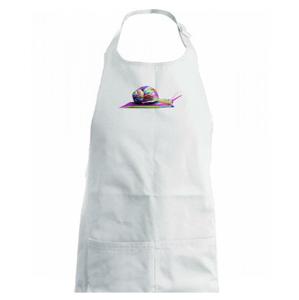 Šnek barevný - Dětská zástěra na vaření