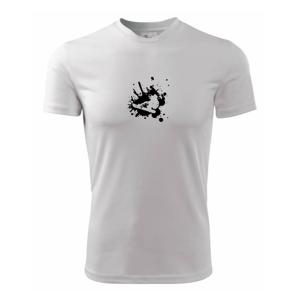 Snowboard splash - Dětské triko Fantasy sportovní (dresovina)