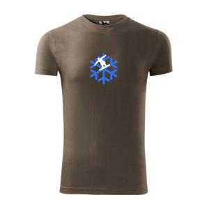 Snowboard vločka - Viper FIT pánské triko