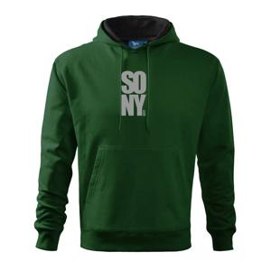 SO NY city - Mikina s kapucí hooded sweater