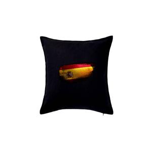 Španělská vlajka okousaná - Polštář 50x50