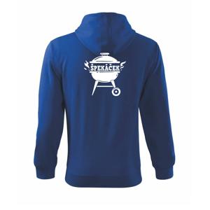 Špekáček - Mikina s kapucí na zip trendy zipper