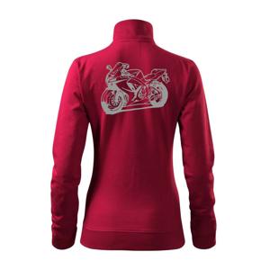 Sportovní motorka - Mikina dámská Viva bez kapuce