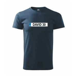 SPZ David 30 - Heavy new - triko pánské