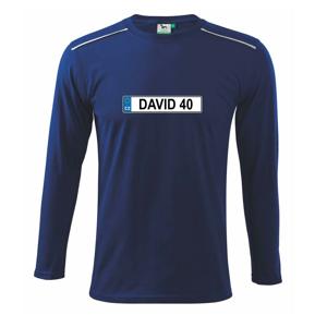 SPZ David 40 - Triko s dlouhým rukávem Long Sleeve