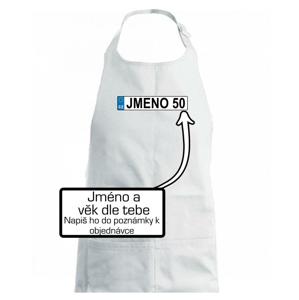 SPZ vlastní jméno - Zástěra na vaření
