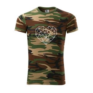Srdce geometrie - Army CAMOUFLAGE