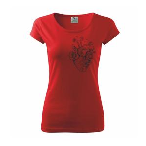 Srdce plné přírody - Pure dámské triko