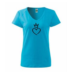 Srdce princezna - Tričko dámské Dream