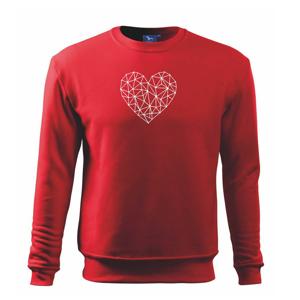 Srdce síť - Mikina Essential pánská