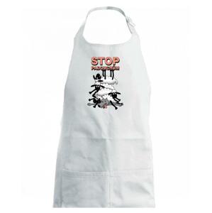 Stop padouchům (Hana-creative) - Dětská zástěra na vaření