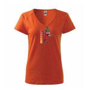 Stupnice pálivé - Tričko dámské Dream