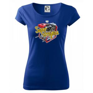Super strojnice - Pure dámské triko