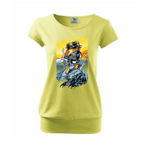 Surfující VAN - Volné triko city