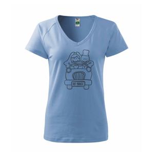 Svatební auto - Tričko dámské Dream