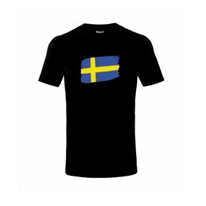 Švédsko vlajka - Triko dětské basic
