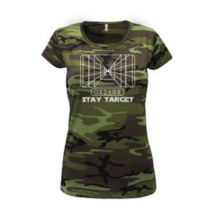 SW - Stay Target - Dámské maskáčové triko