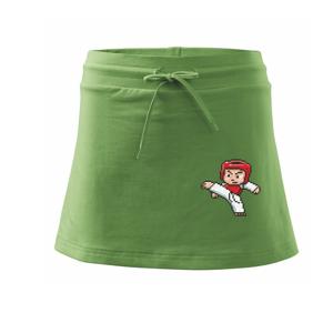 Taekwondo pixel - Sportovní sukně - two in one