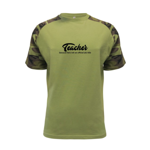 Teacher title - Raglan Military