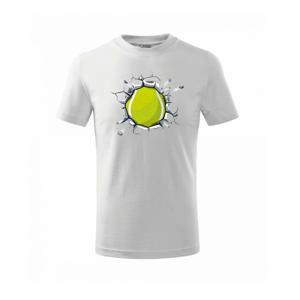Tenisový míč v triku - Triko dětské basic