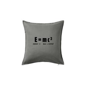 Teorie relativity mléko a káva - Polštář 50x50