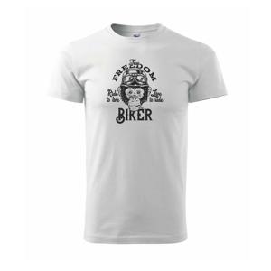 The freedom biker - Triko Basic Extra velké