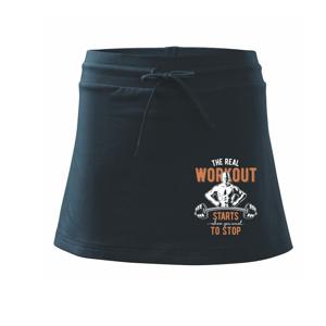 The real workout - Sportovní sukně - two in one