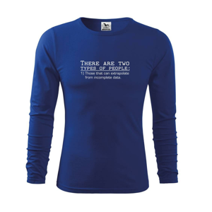 There are two types of people - Triko dětské Long Sleeve