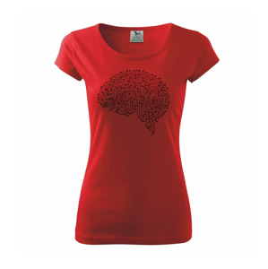 Tištěný spoj mozek - Pure dámské triko
